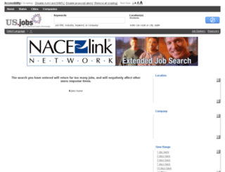 nacelinknetwork.us.jobs screenshot