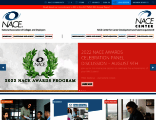 naceweb.org screenshot