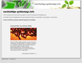 nachhaltige-geldanlage.info screenshot