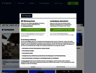 nachrichten.freenet.de screenshot