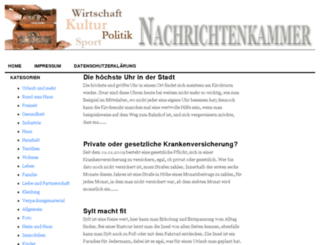 nachrichtenkammer.net screenshot