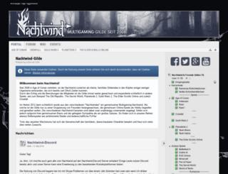 nachtwind-gilde.com screenshot