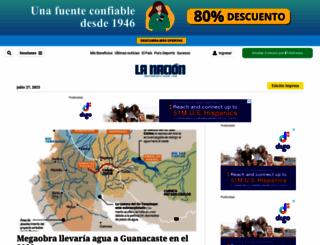 nacion.com screenshot