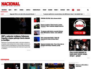 nacional.hr screenshot