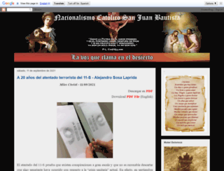 nacionalismo-catolico-juan-bautista.blogspot.com.ar screenshot
