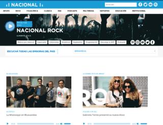 nacionalrock.com screenshot