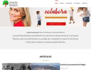 nacionespanola.org screenshot