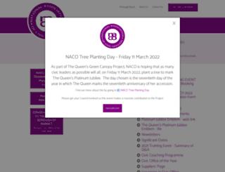 naco.uk.com screenshot