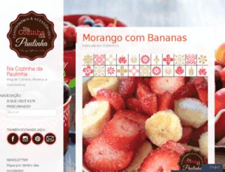 nacozinhadapaulinha.wordpress.com screenshot