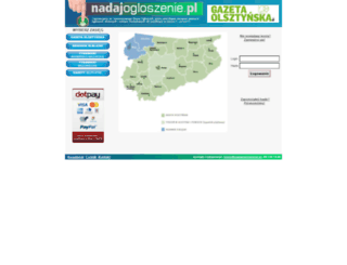 nadajogloszenie.pl screenshot