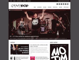 nadapop.com.br screenshot