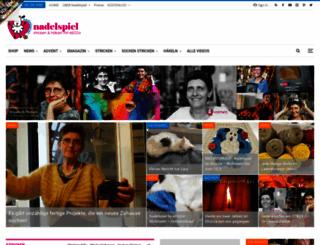 nadelspiel.com screenshot