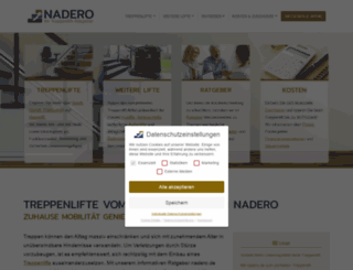 nadero.de screenshot