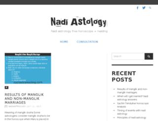 nadiastroreading.com screenshot