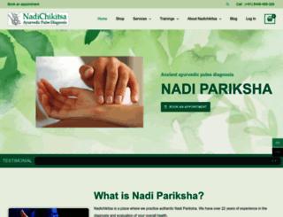 nadichikitsa.com screenshot