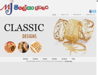 nadikajewellery.com screenshot