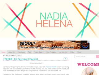 nadineibrahim.blogspot.com screenshot