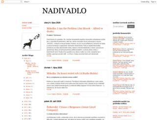 nadivadlo.blogspot.cz screenshot