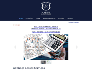 naduradvogados.com.br screenshot