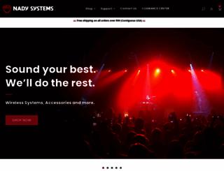 nady.com screenshot