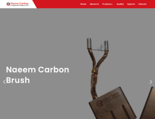 naeemcarbon.co.in screenshot