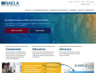naela.org screenshot