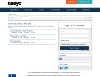 naeyc.applicantpro.com screenshot