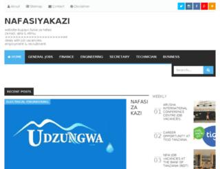 nafasiyakazi.blogspot.com screenshot