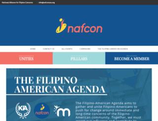 nafconusa.org screenshot