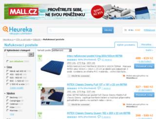 nafukovaci-postele.heureka.cz screenshot