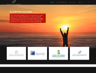 naghi-group.com screenshot