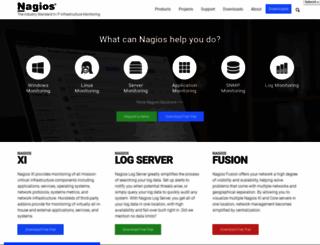 nagios.org screenshot