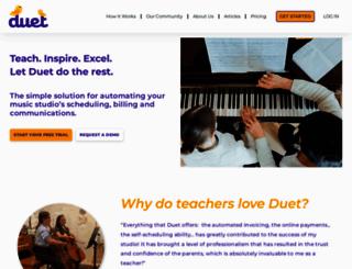 nagosky.musicteachershelper.com screenshot
