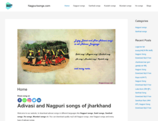 nagpurisongs.com screenshot