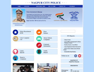 nagpurpolice.gov.in screenshot