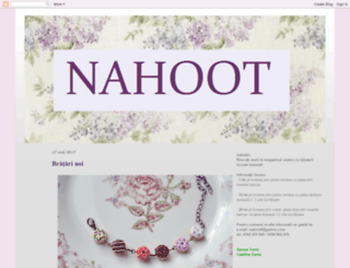 nahoot.blogspot.com screenshot
