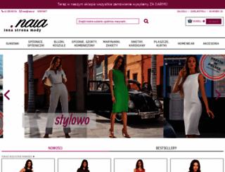 naia.pl screenshot