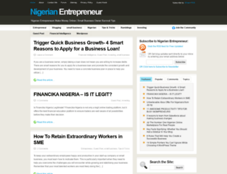 naijaecash.com screenshot