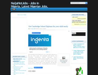 naijahotestjobs.blogspot.com screenshot