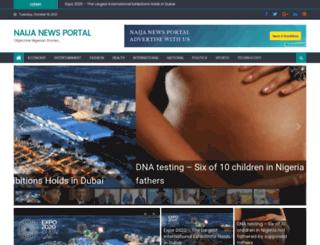 naijanewsportal.com screenshot