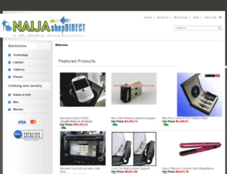 naijashopdirect.com screenshot