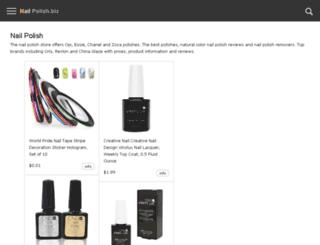 nail-polish.biz screenshot