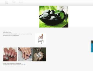 nail-sensation.de screenshot