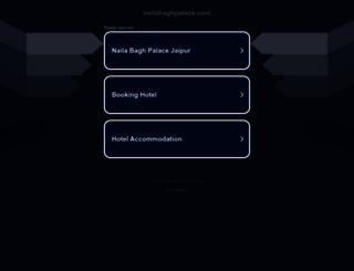 nailabaghpalace.com screenshot