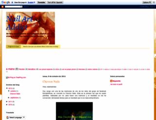 nailartadicct.blogspot.com screenshot