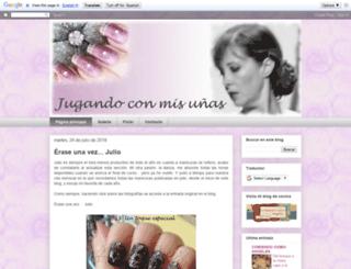 nailartencasa.blogspot.com screenshot