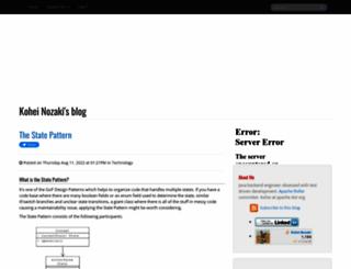 nailedtothex.org screenshot
