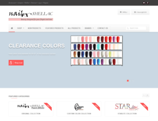 nailfxdirect.com screenshot