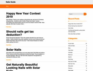 nails-guide.com screenshot