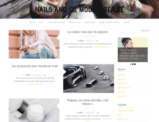 nailsandco.fr screenshot